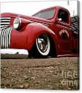 Vintage Style Hot Rod Truck Canvas Print