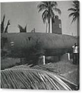 Vintage Submarine Canvas Print