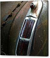 Vintage Tail Light Canvas Print