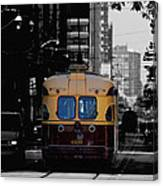 Vintage Trolley Canvas Print