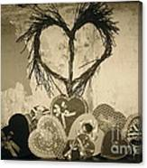 Vintage Valentine  Canvas Print