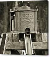Vintage Water Pump Canvas Print