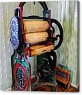 Vintage Wringer Canvas Print