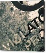 Violators Canvas Print