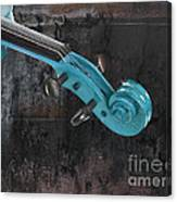 Violinelle - Turquoise 05a2 Canvas Print