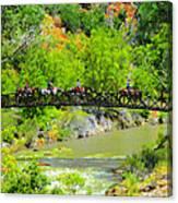Virgin River Crossing Canvas Print