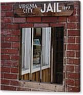 Virginia City Nevada Jail Canvas Print