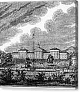 Virginia: College, 1856 Canvas Print
