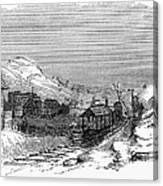 Virginia: Salt Mine, 1857 Canvas Print