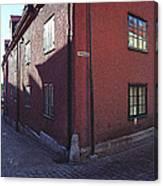 Visby Biograf - Movies Canvas Print