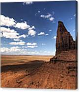 Visions Of Monument Valley  Canvas Print