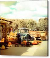 Visit The Pumpkin Patch Canvas Print