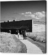 visitors centre at Culloden moor battlefield site highlands scotland Canvas Print