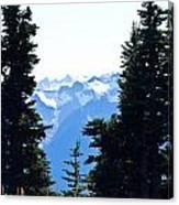 Vistas Along The Trail Canvas Print