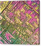 Vitamin B12 Crystal Canvas Print