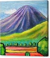 Volcan Mombacho Nicaragua Canvas Print