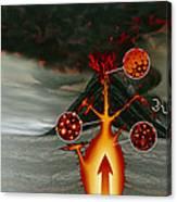 Volcanic Eruption Canvas Print