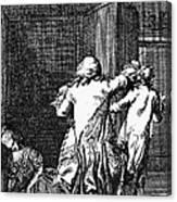 Voltaire: Candide Canvas Print
