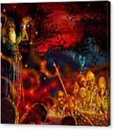 Von The Nacromancer Canvas Print