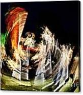 Vortex Of Light Canvas Print