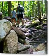 Vt Hiking Canvas Print