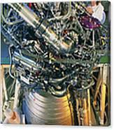 Vulcain Engine Designed For Ariane 5 Launcher Canvas Print
