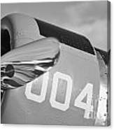 Vultee Bt-13 Valiant In Bw Canvas Print