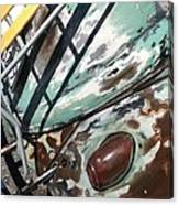 VW Abstract Canvas Print