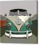 Vw Bus Art Canvas Print