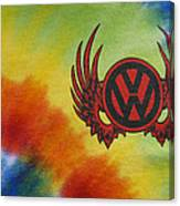 Vw Club Logo Canvas Print