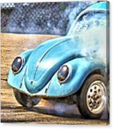 Vw Smoke Show Canvas Print