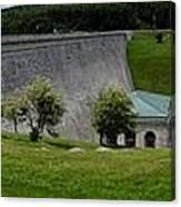 Wachusett Dam Panoramic Canvas Print