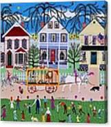 Wacky Jack's Travelling Circus Parade Canvas Print