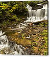 Wagner Falls 5 Canvas Print