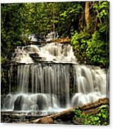 Wagner Falls In Summer  Canvas Print