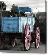 Wagon Ho Canvas Print