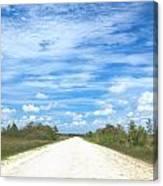 Wagon Wheel Road - 4 Canvas Print