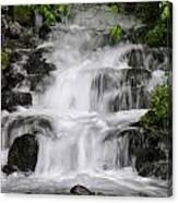 Wahkeena Falls Two Canvas Print