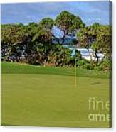 Wailua Golf Course - Hole 17 - 3 Canvas Print