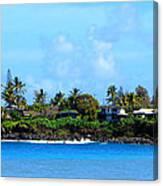 Waimea Bay Canvas Print