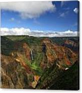 Waimea Canyon Landscape Canvas Print