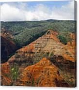 Waimea Canyons Canvas Print