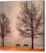 Waiting For Winter Canvas Print