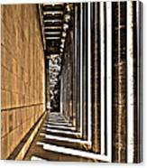 Walhalla Colonnade ... Canvas Print