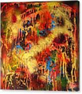 Walk Through The Fire Canvas Print