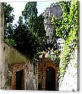 Walking Along The Amalfi Coast  5 Canvas Print