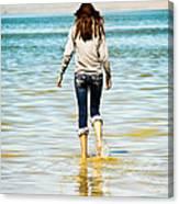 Walking Away 1 Canvas Print