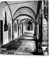 Walkway To Chapel Canvas Print