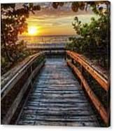 walkway to Paradise Canvas Print