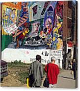 Wall Mural In Montreal Canvas Print